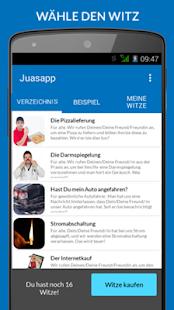 Juasapp - Telefonwitze Screenshot