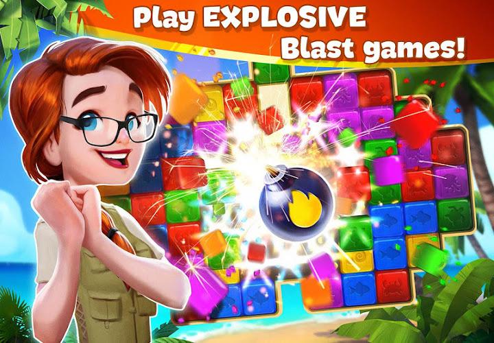 Lost Island: Blast Adventure Android App Screenshot