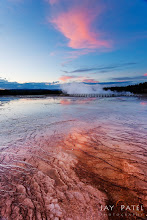 Photo: Echos @ Yellowstone, WyomingHere is an image from our workshop in Yellowstone. This was the first day and all the students had gathered at the Mid Geyser basin and they were practicing their GND filters and composition. And while going in between the students I had left my camera at ISO 640 setting...and shot entire evening using that ISO. ;))How was this photo created?This is a simple photo to take using a GND filter, but I bracketed 3 images to get this shot. I later combined them using our iHDR workflow. Why? Because I had lend my GND filter to one of the students. The composition was selected so that the clouds in the sky echoed the patterns on the ground.Enjoy and Share._____________#photographytips  #photographyworkflow  #landscapephotography