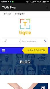 Tigtle Blog - náhled