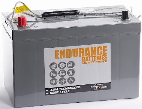 AGM Batteri 12V 118Ah CCA577A