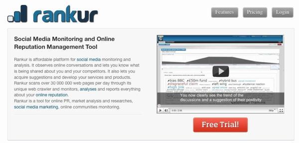 Rankur – herramienta de monitorización de reputación online