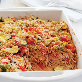 Garden Spaghetti Casserole.