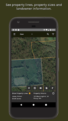 ScoutLook Hunting App: Weather & Property Lines screenshot