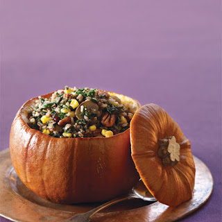 Wild Rice-Stuffed Pumpkin