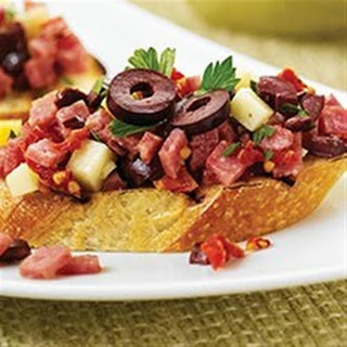 Margherita® Sun-Dried Tomato and Salami Bruschetta