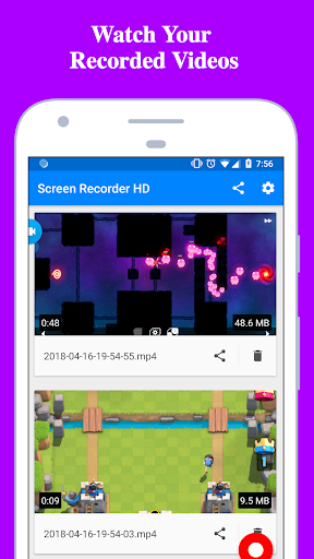 Screen Recorder - Record with Facecam And Audio  screenshots 3