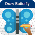 How to Draw a Butterfly icon