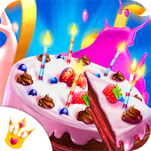 Cake Master Cooking - Food Design Baking Games