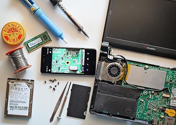 baiki komponen elektronik