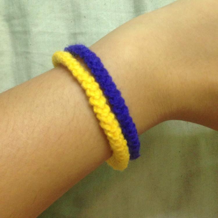 Double-strand bracelet by Ricincraft