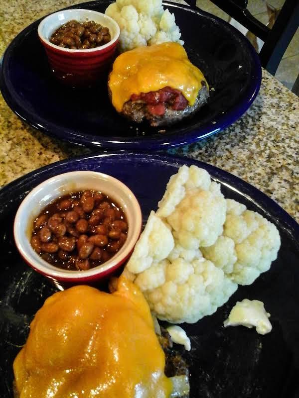 Cheeseburger No Bun....cut The Carbs....keep The Flavor!!!!