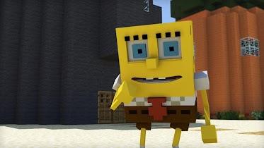 Addon for MCPE - SpongeBob - screenshot thumbnail 03