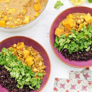 Sweet Potato & Lentil Curry [vegan] [gluten free]