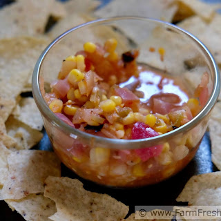 Roasted Corn and Hatch Chile Salsa (Canning Recipe)
