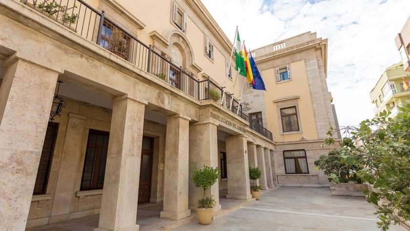 """La Subdelegación recuerda que la cifra de criminalidad en Almería es """"la más baja de la última década""""."""