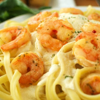 Shrimp Fettuccine Alfredo Recipe