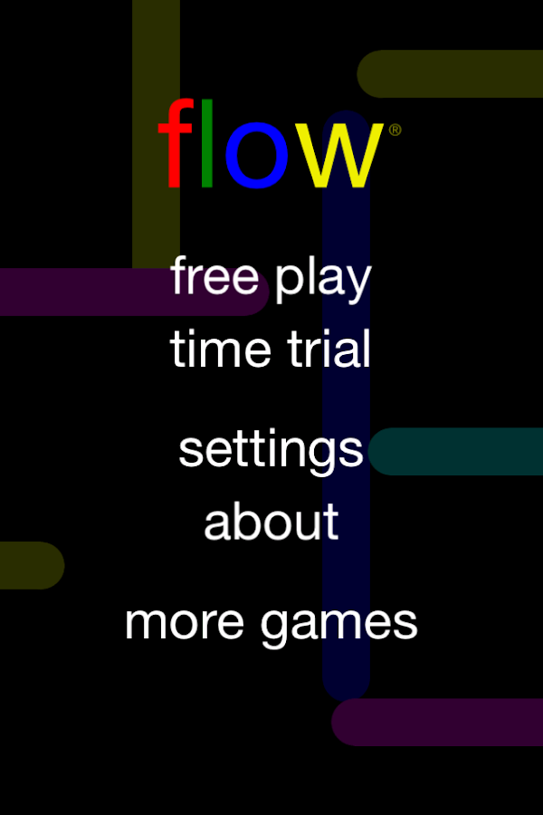 Screenshots of Flow Free for Android