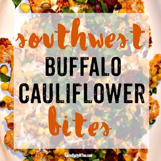Southwest Buffalo Cauliflower Bites