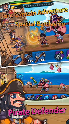 Pirate Defender Premium: Captain Shooting Offline 1.1 screenshots 1