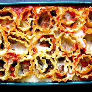 Vegetable Lasagna Rollup Casserole