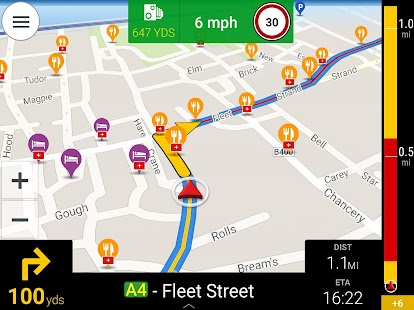 CoPilot UK + Ireland Navigation- screenshot thumbnail