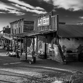 Goldfiled Ghost Town by David Shearer - Uncategorized All Uncategorized ( arizona, ghost town, western )
