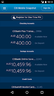 Download Citibank Australia 11 0 0 APK for Android