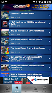Hurricane Tracker WPBF 25- screenshot thumbnail