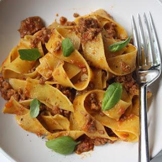 Ragù Bolognese (Authentic Bolognese Sauce)