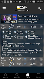 Cleveland19 FirstAlert Weather- screenshot thumbnail