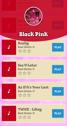 Black Pink Piano Game 1.0 DreamHackers 2