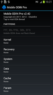 [root] Mobile ODIN Pro 4.20 Android Mod + APK + Data 1