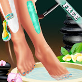 Legs Spa and Dress up for Girl