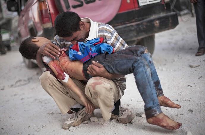 Manu Brabo. Aleppo (Siria) 3/10/2012.