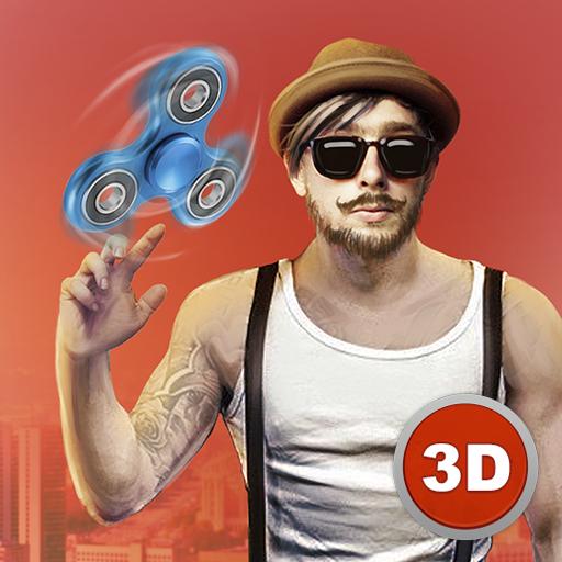 City Gangsters vs Fidget Spinner Super Hero