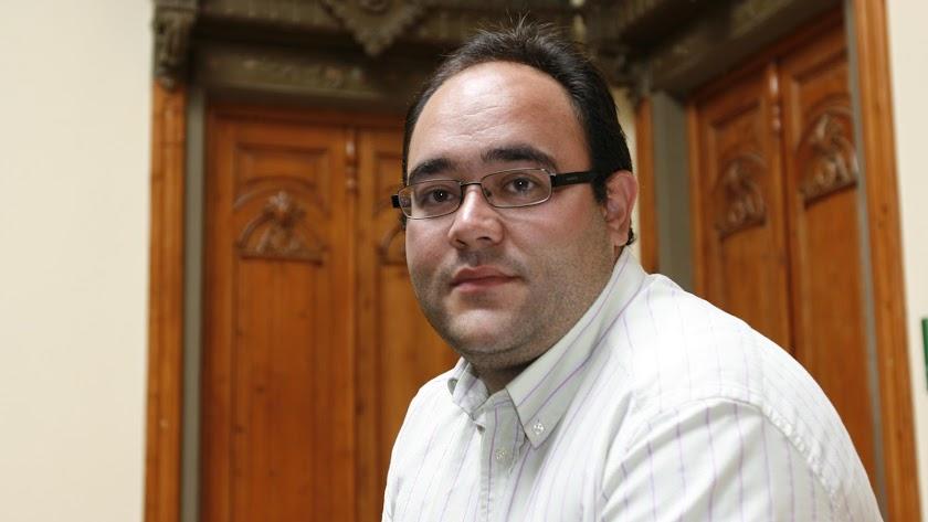 Antonio Ocaña, en una imagen de su etapa como concejal.