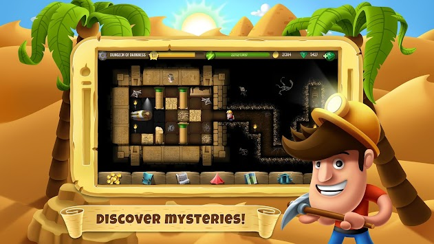 Diggy's Adventure APK screenshot thumbnail 2