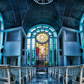 Finding Solace by Flo Yeow - Buildings & Architecture Places of Worship ( floyeow, flotography, chapel, worship, floyeowsingapore, sji,  )
