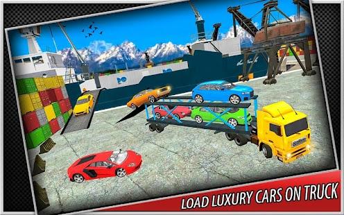 ✌ Car Cargo Truck Sim 2017 3D - náhled