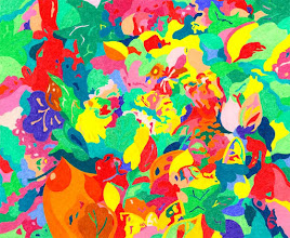 "Photo: Тадеуш Жаховский ""На Лугу. In The Meadow"" Title: In The Meadow / На Лугу Artist:Tadeush Zhakhovskyy / Тадеуш Жаховский Medium: Painting. mixed techique on cardboard, смешанная техника, дизайнерский картон. 50 cm x 61 cm x / 20 in x 24 in. In private collection. О наличии картины просьба контактировать галерею.Также предлагается напечатанная на холсте репродукция этой картины в любом размере."