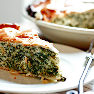 Mom's Famous Spinach Pie.
