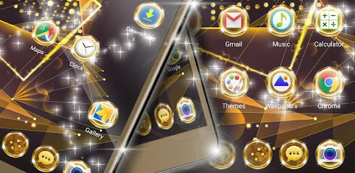 Gold Icons Free app (apk) free download for Android/PC/Windows screenshot