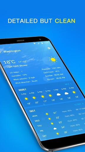 Local Weather Forecast & Visual Widget  screenshots 3