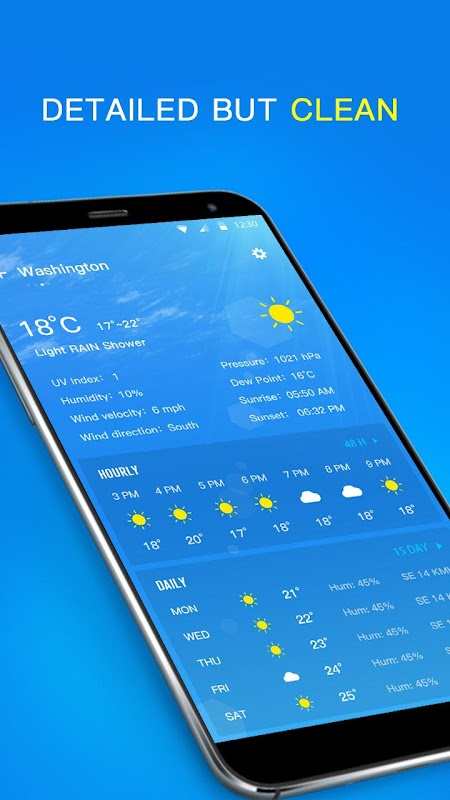 Local Weather Forecast & Visual Widget screenshots
