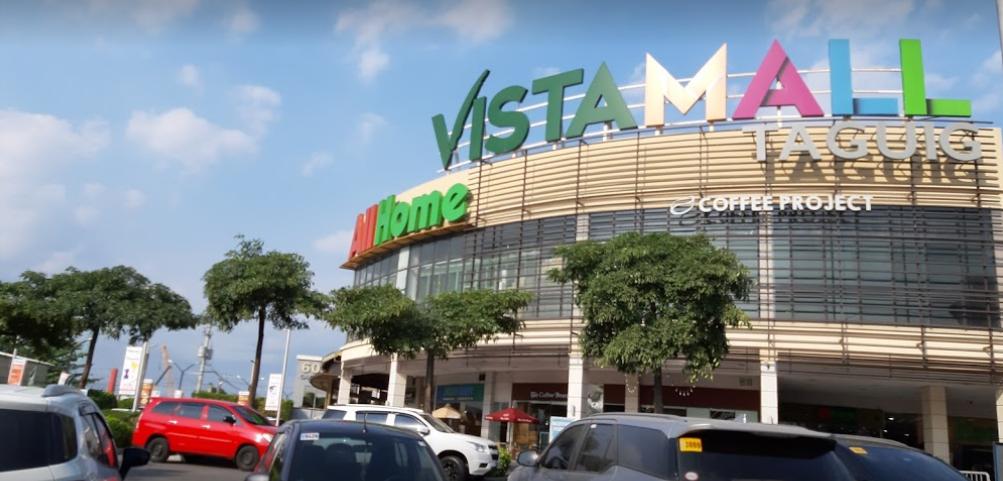 Vista Mall Taguig near BGC, a large commercial mall near The Courtyard COHO, a pre-selling condo near BGC