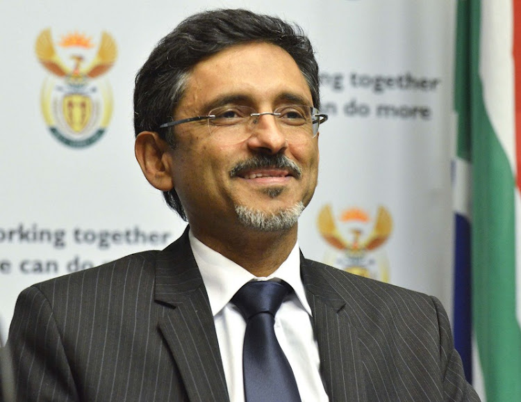 Economic Development Minister Ebrahim Patel. Picture: TREVOR SAMSON