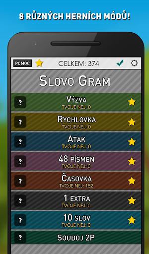 Slovo Gram - u010cesku00e1 Slovnu00ed Hra (verze zdarma) apkmr screenshots 16