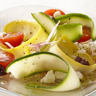 Greek Squash Ribbon Salad