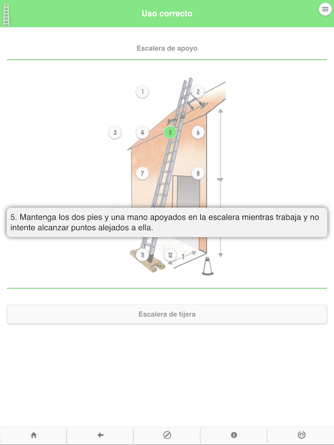 Escaleras manuales- screenshot